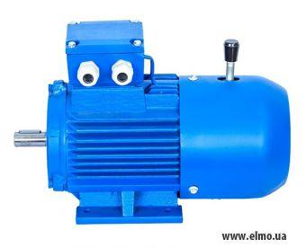 Электродвигатель асинхронный трехфазный со встроенным электромагнитным тормозом